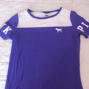 A purple vicious secret top